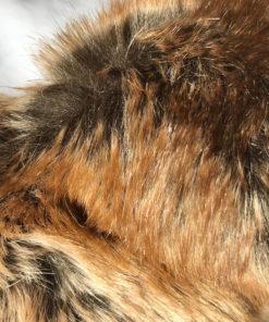 Couverture Marron pour chien en fausse fourrure